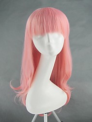 Cosplay Wigs Cosplay Cosplay Pink Medium Anime Cosplay Wigs 65 CM Heat Resistant Fiber Female
