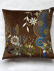45 centímetros * 45 centímetros quadrados macios e travesseiros bordados arte estilo chinês