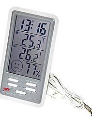 alta termometro elettronico di precisione con sonda interna&esterna (-50 ~ 90 ℃)