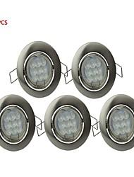 gu10 3w 9x2835smd 230lm 6000-6500k холодный белый Светодиодная лампа потолка (AC220-240V, матовый никель цвет)