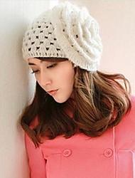 Women Knitwear Ski Hat , Casual Winter