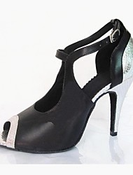 sandali da donna latino tacco a spillo scarpe da buckie da ballo (più colori)