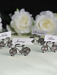 Zinc Alloy Place Card Holders - 4 Piece/Set