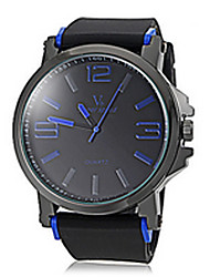 Shinuo Men's All Match Pu Leather Quartz Watch