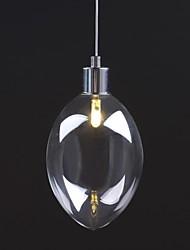 luz pingente de vidro único moderno e contemporâneo