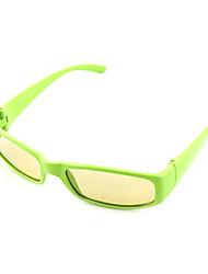 marco de goma sin flash de luz polarizada gafas circulares 3d para los niños