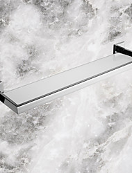 Bathroom Shelf / Stainless Steel Stainless Steel Glass /Contemporary