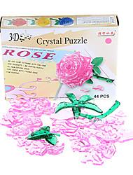 cristal rose puzzle (44pcs)