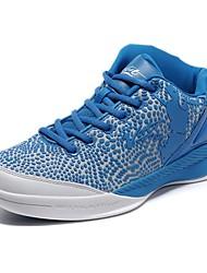 Men's Basketball Shoes Leatherette Black / Blue