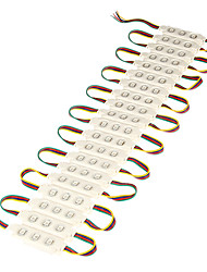 Waterproof 12W 5050SMD RGB Light LED Module (DC 12V)