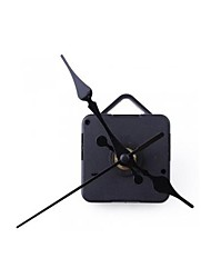 Clock Movement Mechanism with Black Hour Minute Second Hand DIY Tools Kit