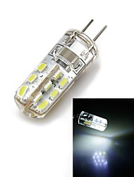 Bombillas Mazorca G4 1.5 W 24 SMD 100 LM Blanco Natural AC 100-240 V