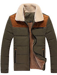 Men's Coats & Jackets,Cotton Long Sleeve Casual Senleisi