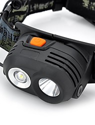 Lights Headlamps 200-230 Lumens Mode Cree XR-E Q5 18650 Waterproof / Rechargeable / Impact ResistantCamping/Hiking/Caving /