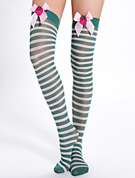 Strawberry Christmas Thigh Highs Hosiery(More Colors)
