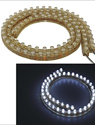 Carking™ PVC-48cm Flexible Waterproof LED Light Strip for Cars/Motorcycles-2PCS