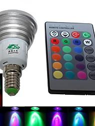 Focos Regulable/Control Remoto/Decorativa Zweihnde BA E14 4.0 W 1 LED Integrado 220-250 LM K RGB AC 85-265 V