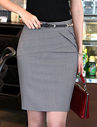 falda plisada bodycon mujeres