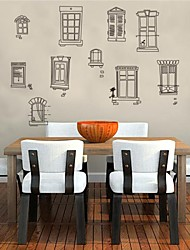 Wall Stickers Wall Decals,Home Decoration Windows PVC Wall Stickers