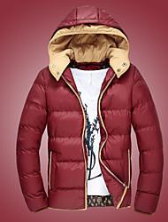 ifeymilan novo casaco de algodão dos homens