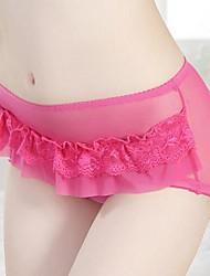 encaje sexy ropa interior transparente de las mujeres