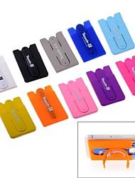 contact-c 10 couleurs Support universel pour téléphone portable et lecteur de cartes deux-en-un