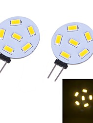 3W G4 LED à Double Broches 12 SMD 5730 230 lm Blanc Chaud DC 12 V