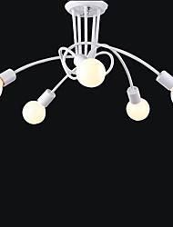 lámpara de techo 5 luz sencillo y moderno artístico