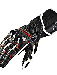 Cycling Outdoor Unisex's Fashion Carbon Fiber Leather Motorcycle Gloves
