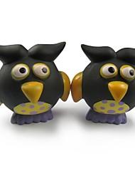 caoutchouc de série corbeau Halloween grincement jouet pour animaux de compagnie chiens chats