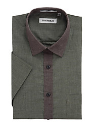 Solid Short Sleeve Shirt