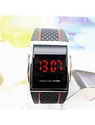 Luxury Digital Red LED Light Sport Wrist Watch Gift Style