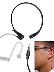 NECKBAND anti-ruído garganta sentido condutor ar fone de ouvido com microfone para iphone Samsung