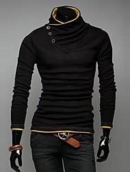 col montant sort couleur mode hoodies lesen hommes o
