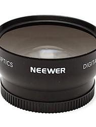 neewer высокой четкости автофокус 0.45x 52mm широкоугольный объектив со встроенным макро-объектив для экстремальных съемки крупным планом