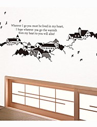 Wall Stickers Wall Decals, Family Living Room Home Decor Quotes Kidsroom PVC Wall Stickers