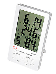 Thermometer with Humidity & Alarm ℃/℉ KT-903