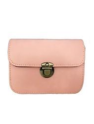 Women PU Casual Shoulder Bag White / Pink / Purple / Green / Yellow / Red / Black