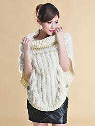 Fur Coats Rabbit Fur Special Occasion/Casual Jacket(More Colors)