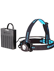 OLIGHT H25 WAVE 3-Mode Cree XLamp XM-L2 Neutral White LED Headlamp(800LM.1 x 5200mAh 7.4v Battery Pack.Black)