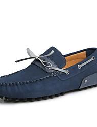 Chaussures Hommes Décontracté Cuir Chaussures Bateau Bleu/Marron/Jaune/Marine