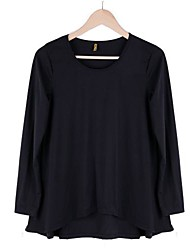 Women's Korean Cotton Tops Batwing T-Shirt