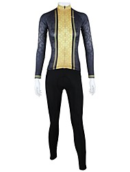 PaladinSport Women's Spring and Summer and Autumn Style 100% Polyester Classic Women Long Sleeved Cycling Suits