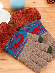 Men Knitwear Gloves , Casual