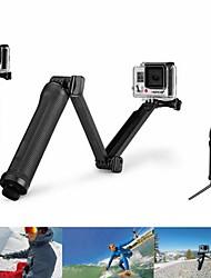 Super Multi-function 3-way Mount Monopod +Tripod + Grip for GoPro Hero4 /Hero3 + /3 /SJ 5000/4000