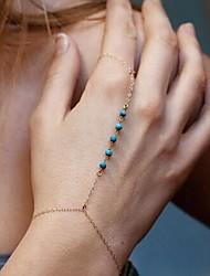 Women's Chain/Fashion/Personalized Bracelet Alloy Turquoise