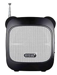 Loudspeaker Voice Amplifier Megaphone for Teachers Tour Guide Support TF USB AUX MP3 FM REC NEWONLINE N53A