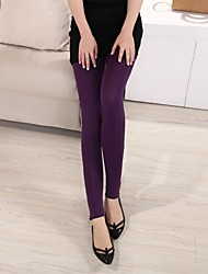 Women's Fashion the Foot in Mouth Zipper Elastic Force Leggings(More Colors)