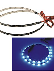 Carking™ 335-30SMD-60CM Waterproof Flexible Car Decorative Side Shine Strip Light(12V)