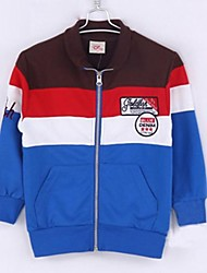 Boy's Cotton Blend Jacket & Coat , Winter/Spring/Fall Long Sleeve